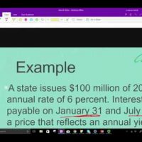 Governmental accounting for interest and principle on long term debt CPA exam FAR