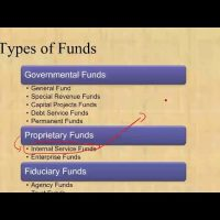 Adding internal service funds to government wide financial statements CPA exam FAR