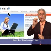 ASL: IRS Small Business Self-Employed Tax Center (Captions & Audio)