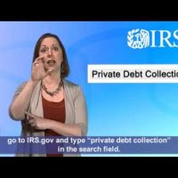 ASL: Private Collection of Overdue Taxes (Captions & Audio)