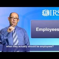 ASL: How to Voluntarily Correct the Classification of Your Workers (Captions & Audio)