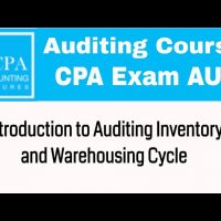 Auditing inventory and warehousing cycle CPA exam Auditing course
