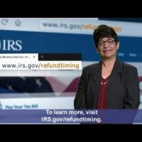 ASL: Claiming EITC or ACTC? Your Refund May Be Delayed (Captions & Audio)