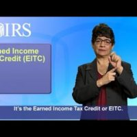 ASL: Earned Income Tax Credit–Get It Right (Captions & Audio)