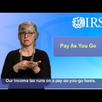 ASL: Estimated Tax Payments (Captions & Audio)