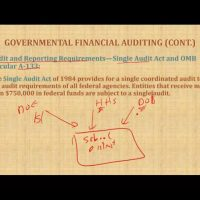 Governmental Financial Auditing GAGAS Yellow Book Single audit act Auditing Course CPA exam AUD