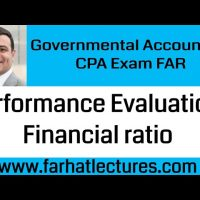 Performance evaluation for government Governmental course CPA exam FAR