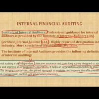 Role of Internal Auditor Auditing Course CPA exam AUD default